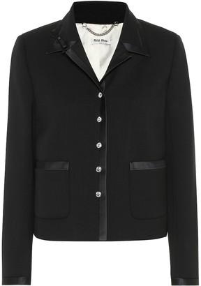 Miu Miu Wool-blend jacket