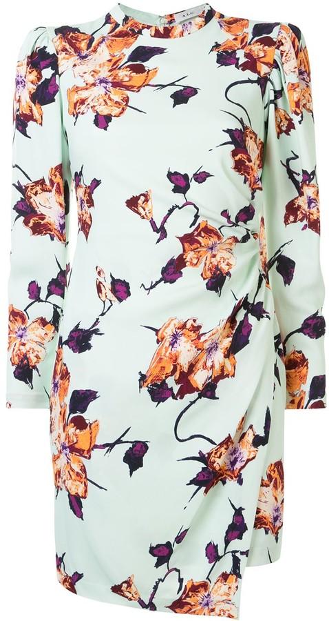 A.L.C. Floral-Print Mini Dress