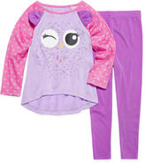 Asstd National Brand Critter 2-pc. Pajama Set - Toddler Girls 2T-4T