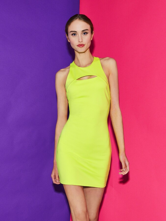 Thumbnail for your product : Alice + Olivia Gara Cut Out Mini Dress