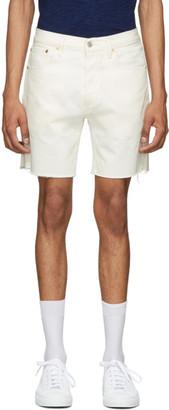 Levi's Levis White Denim 501 93 Shorts