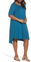 Eileen Fisher Plus Size Women's Jersey Shift Dress