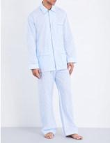 Derek Rose Arlo printed cotton pyjama set