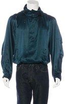 Lanvin Silk Hooded Jacket
