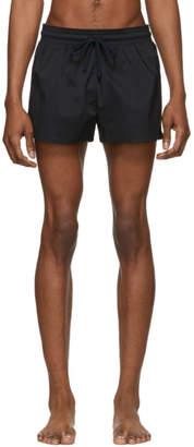 Vilebrequin Black Solid Man Swim Shorts
