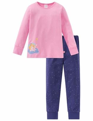 Schiesser Girls' Prinzessin Lillifee Md Anzug Lang Pyjama Sets