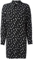 Saint Laurent printed shirt dress - women - Silk - 40