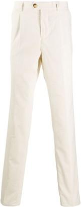 Brunello Cucinelli ribbed velvet trousers