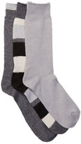 Lucky Brand Crew Cut Socks - Pack of 3