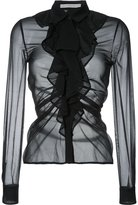 Mary Katrantzou ruffled blouse - women - Silk - 8
