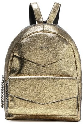 Jimmy Choo Cassie Appliqued Leather Backpack