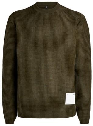 Oamc Waffle-Knit Sweater