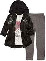 Knitworks Knit Works Embroidered Anorak Legging Set - Girls' 7-16