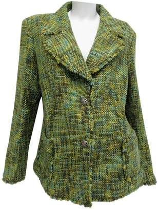 N. Non Signé / Unsigned Non Signe / Unsigned \N Green Synthetic Jackets