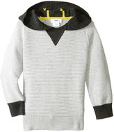HUGO BOSS Hooded Knitted Sweater (Kid) - Gris Claire - 5A
