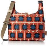 Orla Kiely Womens Love Birds Print Midi Sling Bag Shoulder Handbag,10 x 25.5 x 35.5 cm (W x H x L)