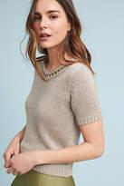 Mo:Vint Latticed Sweater Tee