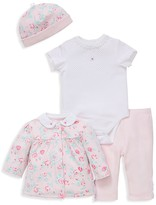 Little Me Infant Girls' Floral Four Piece Set - Sizes Newborn-9 Months