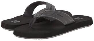 Quiksilver Monkey Wrench (Grey/Black/Grey) Men's Sandals