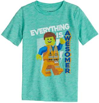 """Lego Boys 4-12 Jumping Beans The Movie """"Everything is Awesomer"""" Graphic Tee"""
