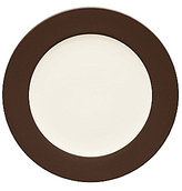 Noritake Colorwave Chocolate Coupe Rimmed Stoneware Round Platter
