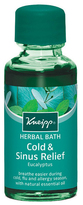 Kneipp Eucalyptus Cold + Sinus Herbal Bath by 0.66oz Bath)