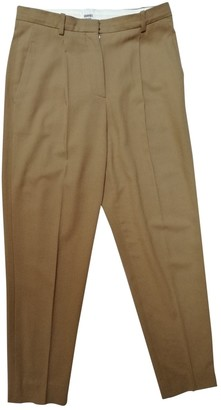 Hermes Camel Wool Trousers
