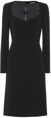 Dolce & Gabbana Long-sleeved midi dress