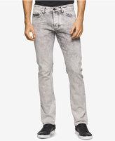 Calvin Klein Jeans Men's Slim-Fit Gray Cloud Wash Jeans