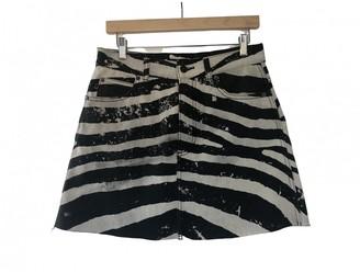 Marc Jacobs Black Cotton Skirt for Women
