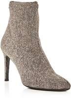 Giuseppe Zanotti Bimba Glitter High Heel Booties