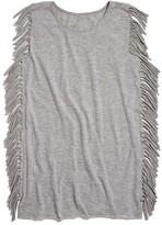 Ppla Girls' Fringed T-Shirt Dress - Sizes S-L