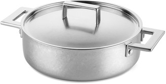 "Mepra 2-Handle 9.4"" Saute Pan with Lid"