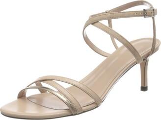 HUGO BOSS Women's Sienna Sandal 60-Mix Ankle Strap