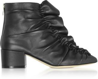 Sergio Rossi Sergio Black Light Ankle Boots
