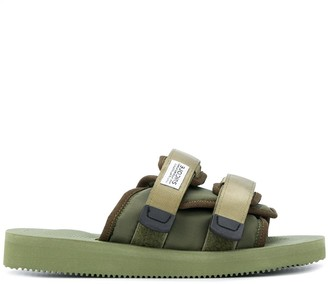 Suicoke Open Toe Padded Slides