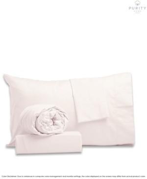 Purity Home Garment Wash Cotton Sheet Sets Queen Bedding