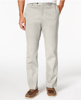 Tasso Elba Men's Regular-Fit Stretch Pants, Only at Macy's