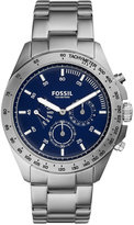 Fossil Men's Chronograph Sport 54 Stainless Steel Bracelet Watch 44mm CH3034