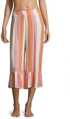 Cool Change coolchange coolchange Women's Payton Striped Culotte - Tangerine - Size Small