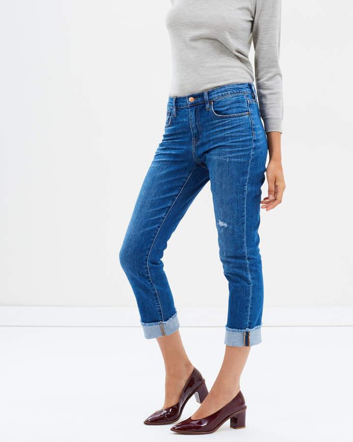 J.Crew Slim Boy Jeans With Cut Hem