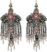 Gucci Earrings with crystal embroidery
