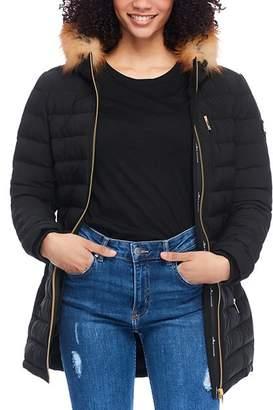 Moose Knuckles Gold Series Ladysmith Fur-Trim Down Coat