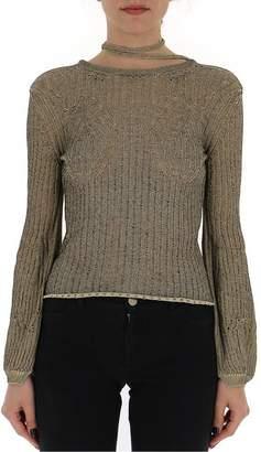 Chloé Tie-Detail Long-Sleeved Top