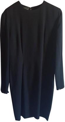 Paco Rabanne Black Wool Dresses