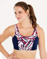 Pez D'or Geo Print High Impact Sports Bra