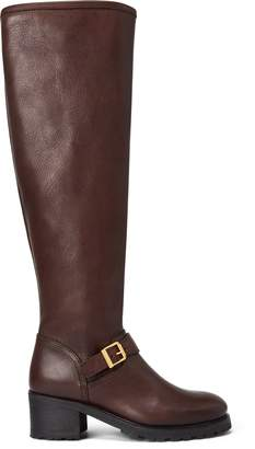 Ralph Lauren Patsie Leather Boot