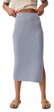 Cotton On Women's Stella Knit Midi Skirt