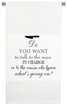 Mariasch Studios Do You Want to Talk to The Man Kitchen Towel