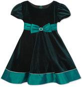 Rare Editions Velvet & Taffeta Dress, Toddler Girls & Little Girls (2T-6X)